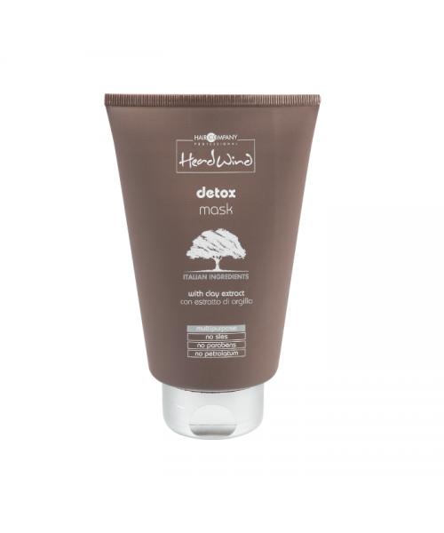 Детокс-маска с итальянской глиной Hair Company Head Wind, 200 мл
