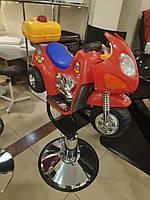 Парикмахерское Кресло для стрижки мотоцикл  для детей, детские парикмахерские кресла для салонов красоты