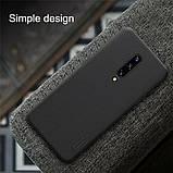 Nillkin OnePlus 7 Pro Super Frosted Shield Black Чехол Накладка Бампер, фото 4