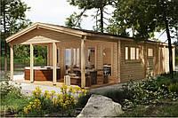 Дом деревянный из профилированного бруса 13х6. Скидка на домокомплекты на 2020 год