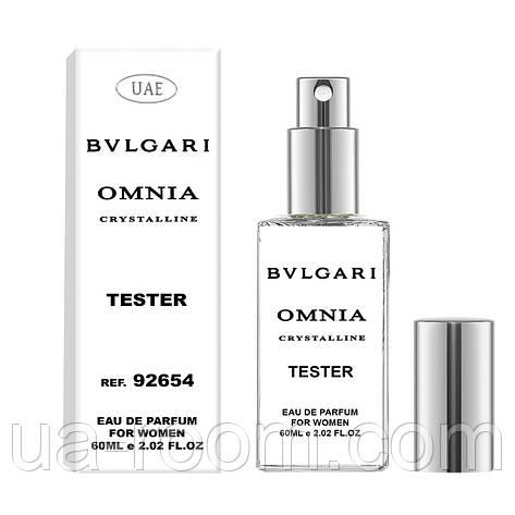 Тестер женский UAE Bvlgari Omnia Crystalline, 60 мл., фото 2