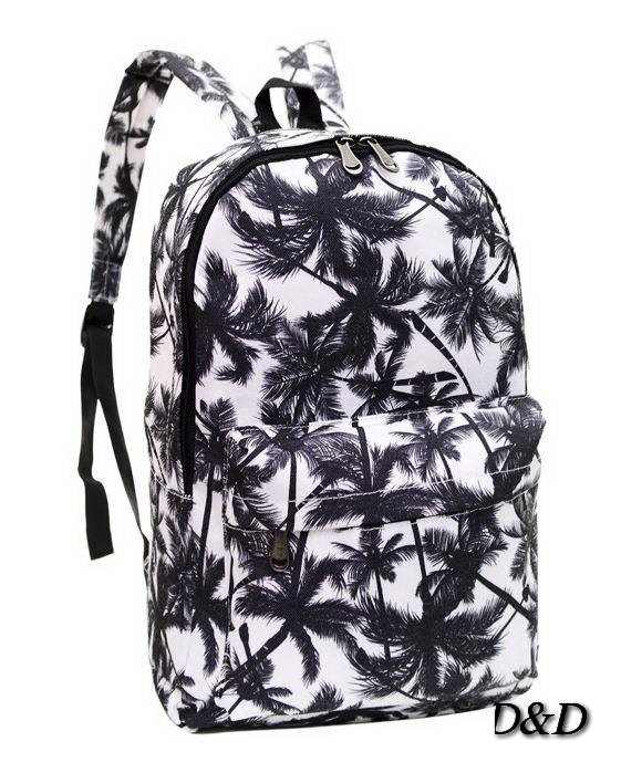 Рюкзак женский в пальмах