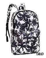 Рюкзак женский в пальмах, фото 1