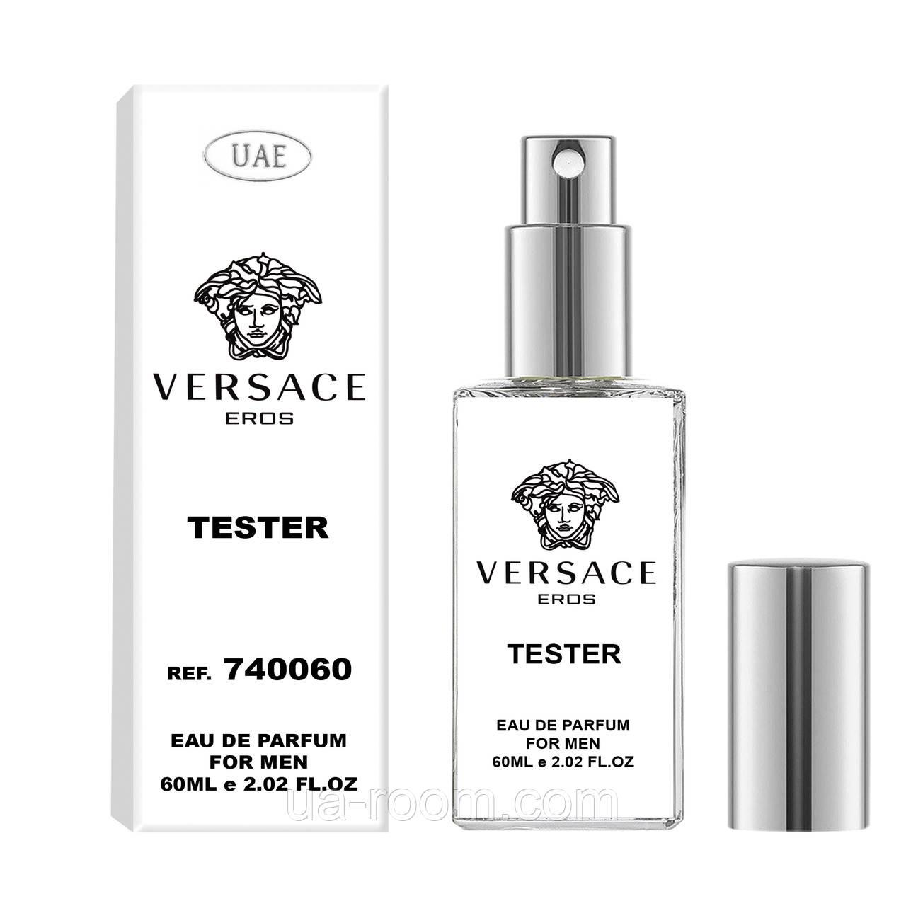 Тестер мужской UAE Versace Eros, 60 мл.