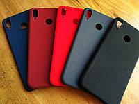 Матовый силиконовый Soft-touch чехол для Huawei Honor 8X / Стекла в наличии /