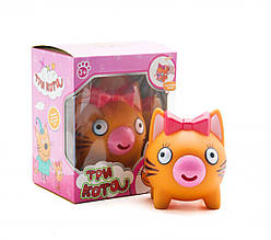 Игрушка-пищалка  Три кота: Карамелька