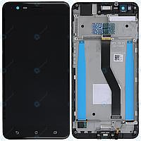 Дисплей для Asus ZenFone 3 Zoom (ZE553KL) + touchscreen, черный, Navy Black, с передней панелью