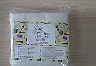 Салфетки в пачке одноразовые Panni Mlada 10х10 см (100 шт/пач) из спанлейса 40 г/м² Гладкие