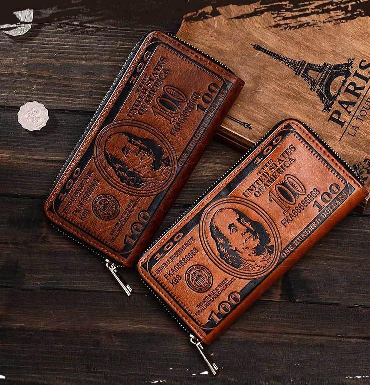 Мужской клатч портмоне 100$, фото 1