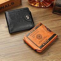 Мужской кошелек Доллар, фото 1