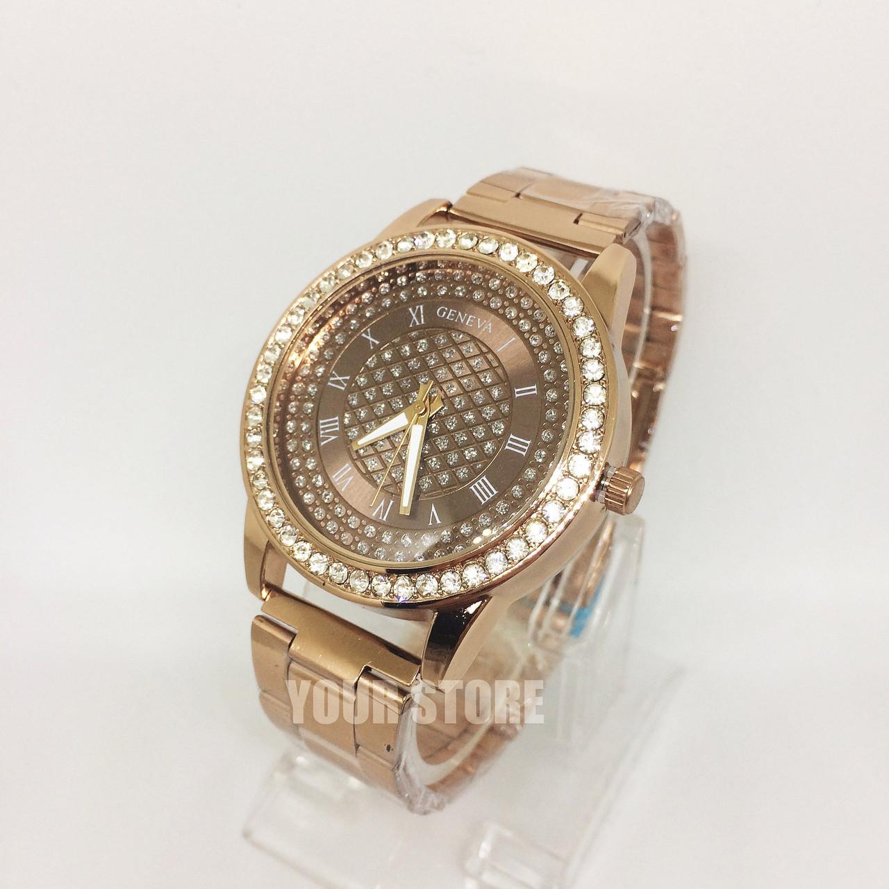 Наручные часы женские Geneva золото