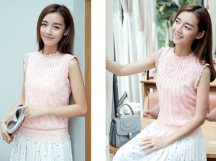 Нарядная блузка без рукавов 42-44 (в расцветках)