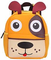 Рюкзак детский Собака Orange (3D00d)