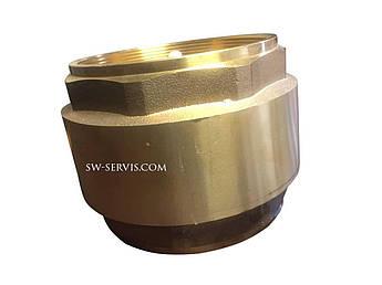 Зворотний клапан 2 1/2 латунний пружинний
