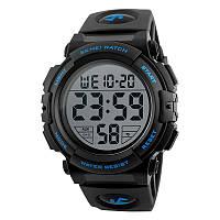 Годинник 1258 Black/Blue Skmei