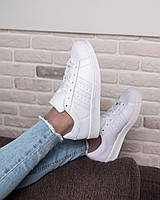 Кроссовки adidas Originals Superstar Glossy Toe White, фото 1