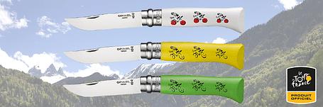 Нож Opinel №8, Tour de France - Green  001911, фото 2