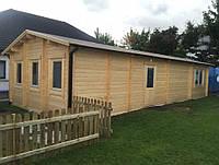 Дом деревянный из профилированного бруса 12х5. Скидка на домокомплекты на 2020 год