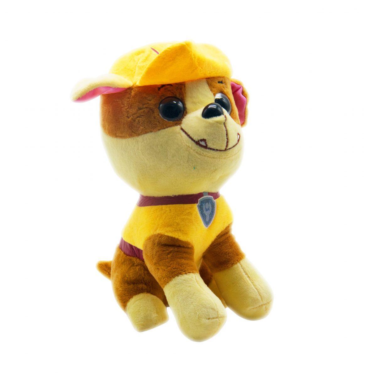 Мягкая игрушка собачка Щенячий патруль: Крепыш