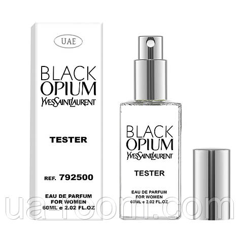 Тестер женский  UAE Yves Saint Laurent Black Opium, 60 мл., фото 2