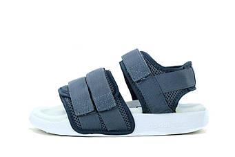 "Женские сандалии Adidas Sandals ""Grey/White"" (люкс копия)"