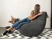 Мягкие кресла-мешки из мебельной ткани с поролоном