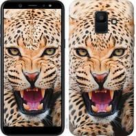 Чехол Endorphone на Samsung Galaxy A6 2018 Леопард 846c-1480-18675 (846-1480)