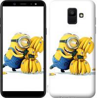Чехол Endorphone на Samsung Galaxy A6 2018 Миньоны 3 297c-1480-18675 (297-1480)