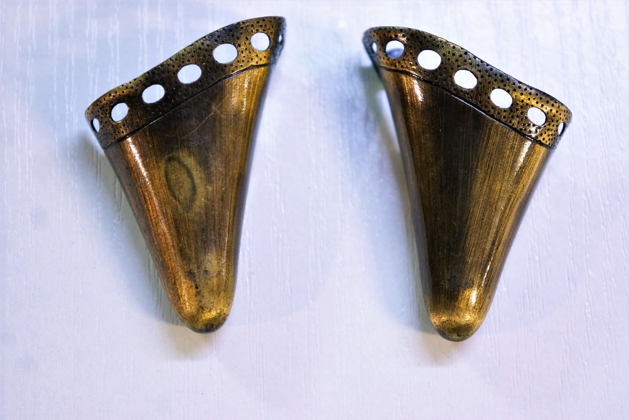 Носики гальваника золото (украшение на носок женской обуви) №003