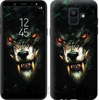Чехол Endorphone на Samsung Galaxy A6 2018 Дьявольский волк 833c-1480-18675 (833-1480)