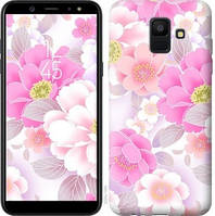 Чехол Endorphone на Samsung Galaxy A6 2018 Цвет яблони 2225c-1480-18675 (2225-1480)