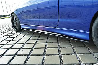 Диффузоры порогов юбка элерон накладка тюнинг Seat Ibiza MK2 Cupra
