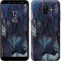 Чехол Endorphone на Samsung Galaxy A6 2018 Листья v3 3328c-1480-18675 (3328-1480)