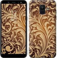 Чехол Endorphone на Samsung Galaxy A6 2018 Растительный узор 2260c-1480-18675 (2260-1480)