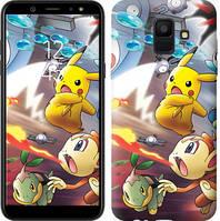 Чехол Endorphone на Samsung Galaxy A6 2018 Покемоны pokemon go v2 3771c-1480-18675 (3771-1480)