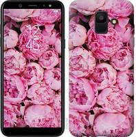 Чехол Endorphone на Samsung Galaxy A6 2018 Пионы v3 2739c-1480-18675 (2739-1480)