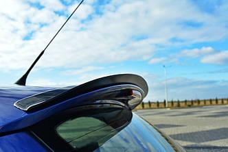 Накладка на спойлер козырёк тюнинг Seat Ibiza MK2 Cupra
