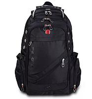 Городской водозащитный рюкзак Swissgear 8810 Original с AUX и USB, швейцарский рюкзак