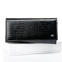 Кошелек женский кожаный лак LR SERGIO TORRETTI W501 black