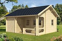 Дом деревянный из профилированного бруса 5х6. Скидка на домокомплекты на 2020 год