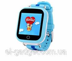 Смарт-часы детские умные Q100 оригинальные голубые
