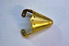Носики золото (украшение на носок женской обуви) №010
