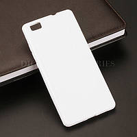 Силиконовый чехол Duotone для Huawei P8 LITE белый, фото 1