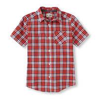 Детская брендовая рубашка для мальчика от The Children's Place; 7/8, 14 лет, фото 1