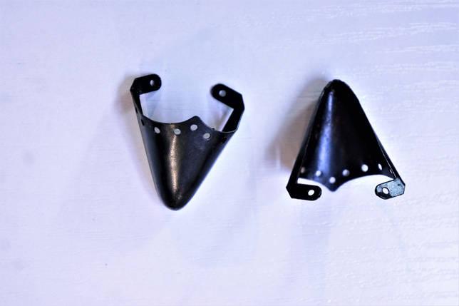 Носики черные (украшение на носок женской обуви) №013, фото 2