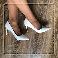 Классические туфли Stilli L021-2 бел кожа, фото 1