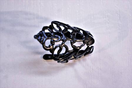 Носики черные (украшение на носок женской обуви) №015, фото 2