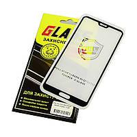 Защитное стекло для HUAWEI P20 Pro Full Glue (0.25 мм, 2.5D, чёрное) Люкс