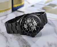 Механические мужские наручные часы Winner Skeleton