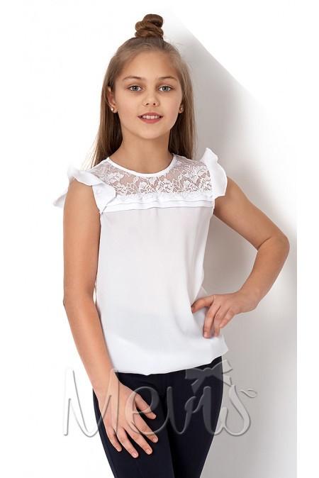 Школьная блуза для девочки р. 122, 128, 134, 140, 146